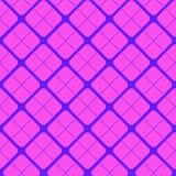 Vector seamless geometric rhombus background stock illustration