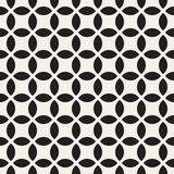 Vector Seamless Geometric Rounded Lines Pattern. Abstract Geometric Background Design Stock Photos
