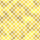 Vector seamless geometric textured golden pattern. Background Royalty Free Stock Photography