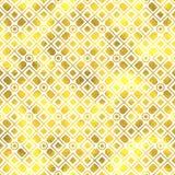Vector seamless geometric textured golden pattern. Background Stock Photo