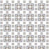 Vector seamless geometric tiles pattern background Royalty Free Stock Photos