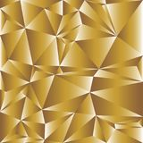Vector of seamless geometric white and gold background Royalty Free Stock Photos