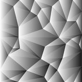 Vector of seamless geometric white and gray background Stock Photos
