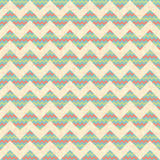 Vector Seamless geometric zig zag chevron pattern Stock Photos