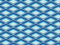 Vector seamless geometrical pattern. Abstract seamless blue geometrical pattern Stock Photo