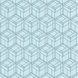 Vector Seamless Geometrical Pattern.  Stock Photography