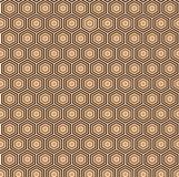 Vector Seamless Geometrical Pattern for Textile Design Stock Image