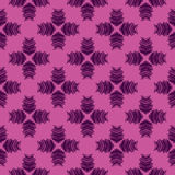 Vector Seamless geometry pattern flower Royalty Free Stock Images