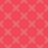 Vector Seamless geometry pattern flower Royalty Free Stock Photos