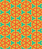 Vector Seamless geometry pattern. Flower, Abstract geometric background for postcards, prints fabric, background for web, The texture may be used for printing Royalty Free Stock Image