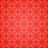 Vector Seamless geometry pattern Stock Images
