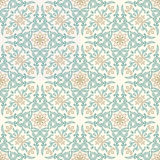 Vector seamless gold pattern with art ornament. Vintage elements for design in Victorian style Royalty Free Stock Photography