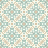 Vector seamless gold pattern with art ornament. Vintage elements for design in Victorian style Royalty Free Illustration