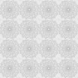 Vector seamless gray background with ornament Stock Photos