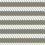 Vector seamless grey pattern with rope Symmetrical background Graphic illustration. Template for wrapping, backgrounds, fabric, pr. Ints, decor, surface Stock Images