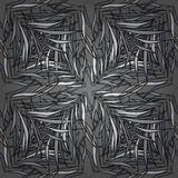 Vector illustration texture. Vector seamless grey white abstract pattern. Radial gradient shape Royalty Free Stock Photos
