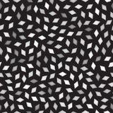 Vector Seamless Greyscale Rhombus Jumble Pattern Royalty Free Stock Image