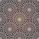 Vector Seamless Hand Drawn Doodle Pattern Royalty Free Stock Photography