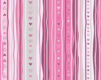 Vector seamless  heart pattern. Stock Photo