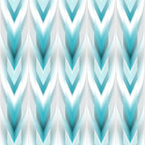 Vector Seamless Ikat Ethnic Pattern Royalty Free Stock Image