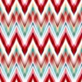 Vector Seamless Ikat Ethnic Pattern Royalty Free Stock Photos