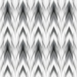 Vector seamless ikat ethnic pattern Stock Image