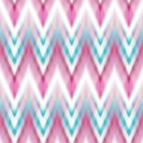 Vector seamless ikat ethnic pattern Stock Image