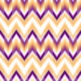 Vector seamless ikat ethnic pattern Royalty Free Stock Photo