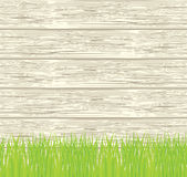 Vector seamless illustration of green grass Royalty Free Stock Photography
