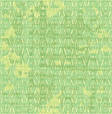 Vector seamless inlay of yellow-green color Stock Photography