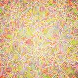 Vector seamless kaleidoscope pattern Royalty Free Stock Photos