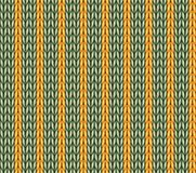 Vector seamless knitted pattern background Stock Photo