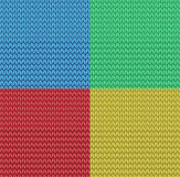 Vector seamless knitted pattern background Stock Photography