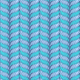 Vector seamless knitting pattern. Vector illustration with seamless knitting hand-drawn pattern Stock Images