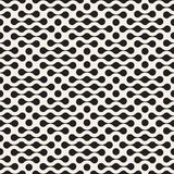 Vector seamless lattice pattern. Modern stylish texture with monochrome trellis. Repeating geometric grid. Simple design backgroun. Vector seamless lattice stock illustration
