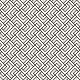 Vector seamless lattice pattern. Modern stylish texture with monochrome trellis. Repeating geometric grid. Simple design. Vector seamless lattice pattern. Modern stock illustration