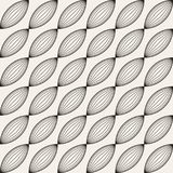Vector seamless lattice pattern. Modern stylish texture with trellis. Repeating geometric grid. Simple graphic design background. vector illustration
