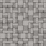 Vector seamless lattice pattern. Modern stylish texture with monochrome trellis. Repeating geometric grid. Simple design. Vector seamless lattice pattern. Modern vector illustration