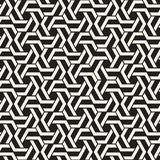 Vector seamless lines pattern. Modern stylish abstract texture. Repeating geometric tiles with stripe elements Royalty Free Stock Image