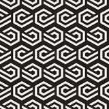 Vector seamless lines pattern. Modern stylish abstract texture. Repeating geometric tiles with stripe elements Royalty Free Stock Images