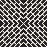 Vector seamless lines pattern. Modern stylish abstract texture. Repeating geometric tiles with stripe elements. Vector seamless lines mosaic pattern. Modern royalty free illustration
