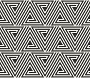 Vector seamless lines pattern. Modern stylish triangle shapes texture. Repeating geometric tiles. From striped elements vector illustration