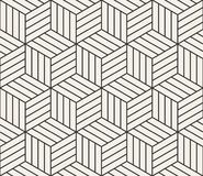 Vector seamless lines pattern. Modern stylish triangle shapes texture. Repeating geometric tiles. From striped elements stock illustration