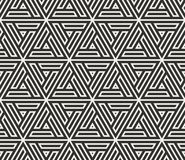 Vector seamless lines pattern. Modern stylish triangle shapes texture. Repeating geometric tiles. From striped elements royalty free illustration