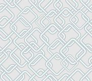Vector seamless low contrasting background, rhomboid metallic patterns on light gray area Stock Photos
