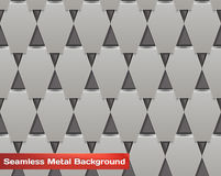 Vector Seamless Metal Background Royalty Free Stock Image