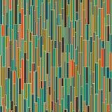 Abstract mid century pattern vector illustration