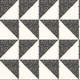 Vector seamless modern monochrome pattern. Royalty Free Stock Photography
