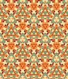 Vector seamless mosaic ornaments Stock Photo