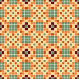 Vector seamless mosaic ornaments Royalty Free Stock Images